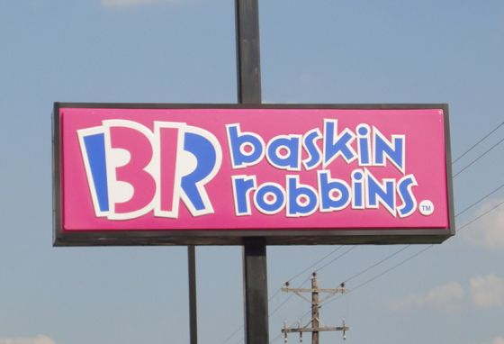 Baskin Robbins pylon