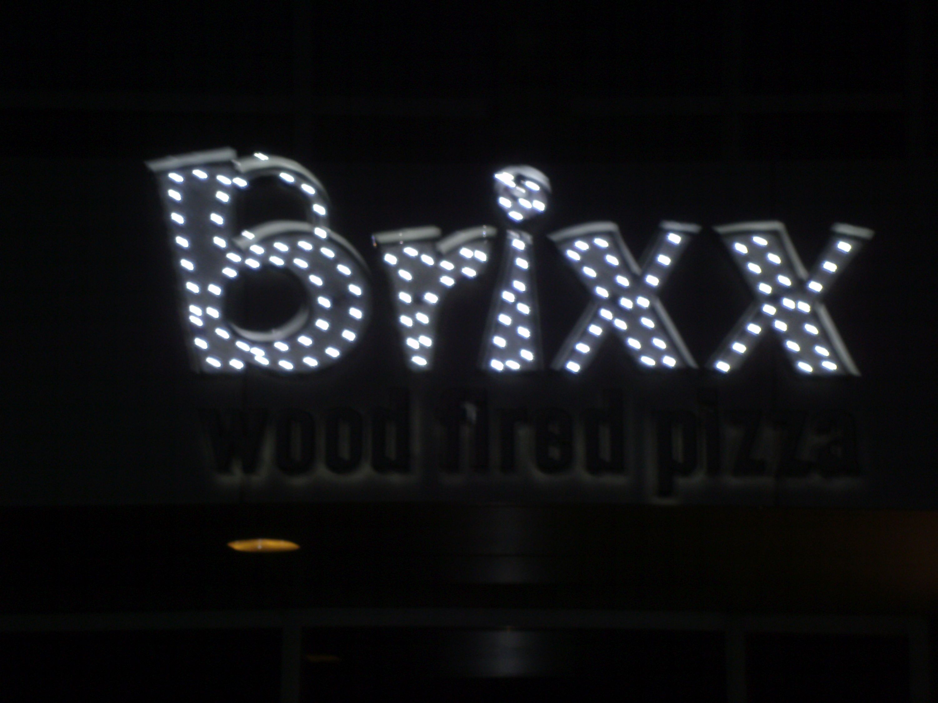 Brixx  lit channel letters