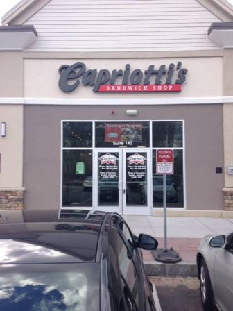 Capriotti's front elevation