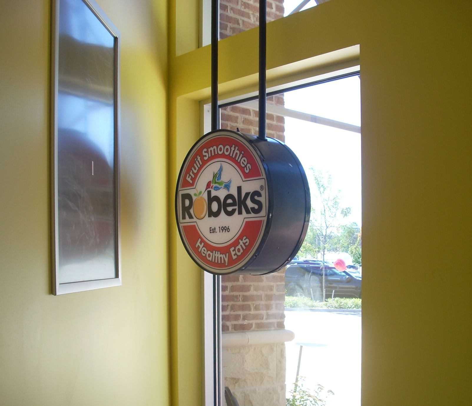Robeks window sign